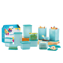 Load image into Gallery viewer, Tupperware Sea Breeze Food Containers