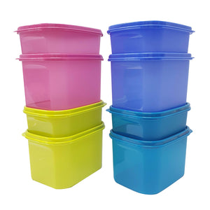 Tupperware Smart Keeper Semi Transparent Food Containers