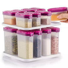 Load image into Gallery viewer, Tupperware Modular Spice Set With Carousel - 16 Pieces