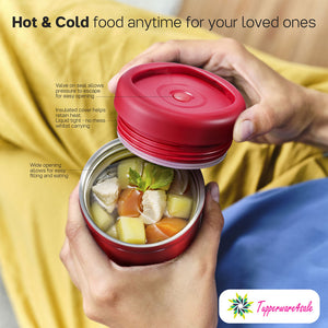 Tupperware Stacking Thermal Flask