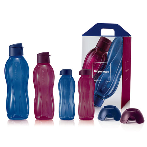 Tupperware Eco Drinking Bottles Limited Sapphire Edition