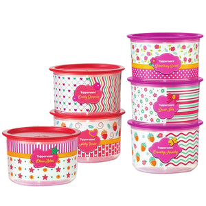 Tupperware Blushing Pink One Touch Gift Set-Tupperware 4 Sale