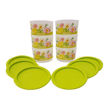Load image into Gallery viewer, Tupperware Floral Airtight One Touch Topper Junior
