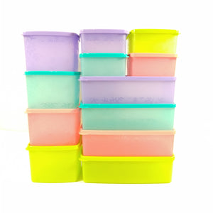 Tupperware Snowflake Square Round Mini Set-Tupperware 4 Sale