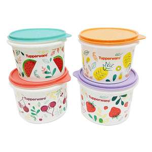 Tupperware Fruity Canister Set with Freebies