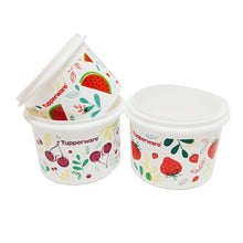 Load image into Gallery viewer, Tupperware Fruity Canister Set with Freebies