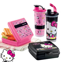 Load image into Gallery viewer, Tupperware Hello Kitty Lunch Box Set