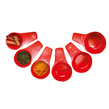 Load image into Gallery viewer, Tupperware Measuring Cup Set