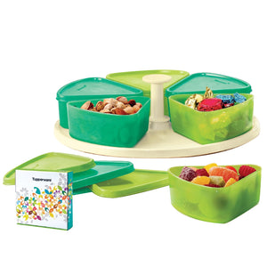 Tupperware Modular Carousel Containers