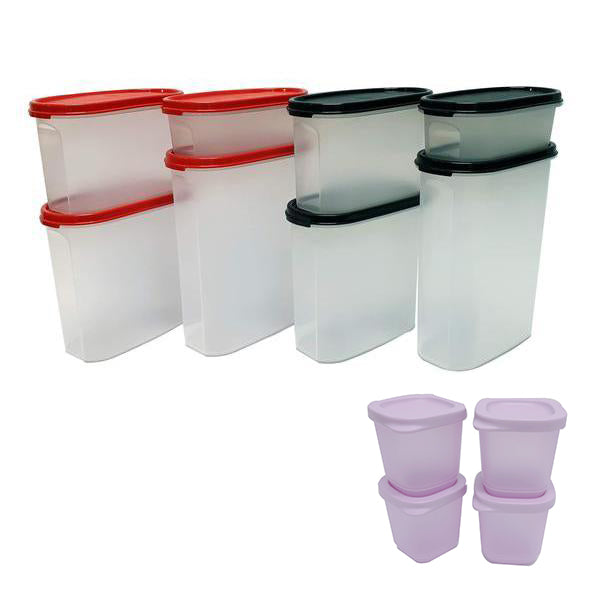 Tupperware Modular Mates Oval Double Set with Freebies II-Tupperware 4 Sale