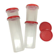 Load image into Gallery viewer, Tupperware Modular Mates Red Round Set-Tupperware 4 Sale