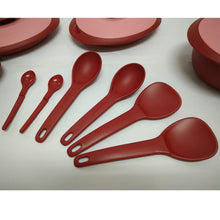 Load image into Gallery viewer, Tupperware Petit Royal Red Serving Set-Tupperware 4 Sale