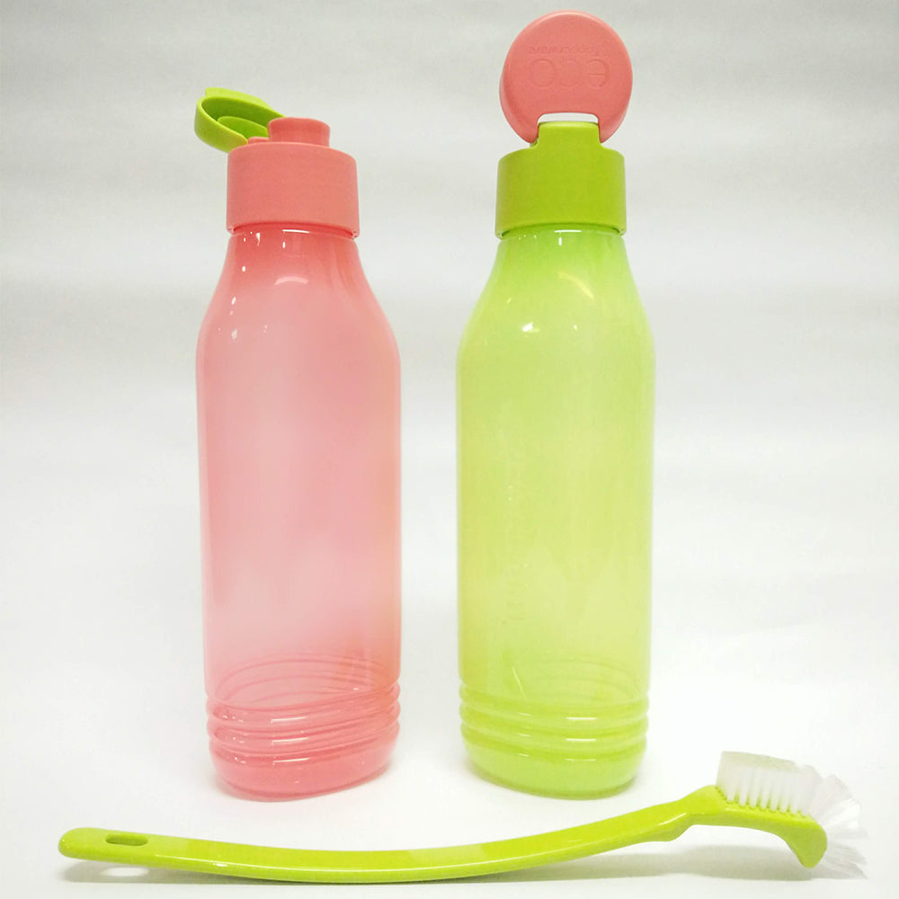 Tupperware Triangle Quencher Set II - Free Bottle Brush
