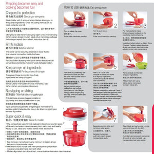 Tupperware Turbo Chopper With Freebies-Tupperware 4 Sale