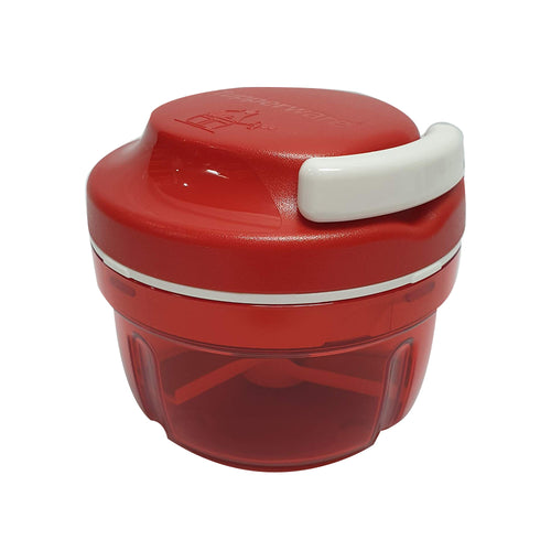 Tupperware Turbo Chopper - Red