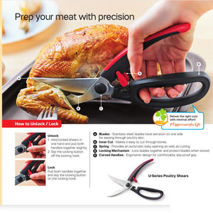 Tupperware U-Series Poultry Shears