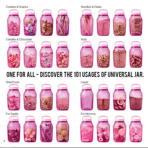 Tupperware Liquid Tight & Airtight 3L Universal Jar