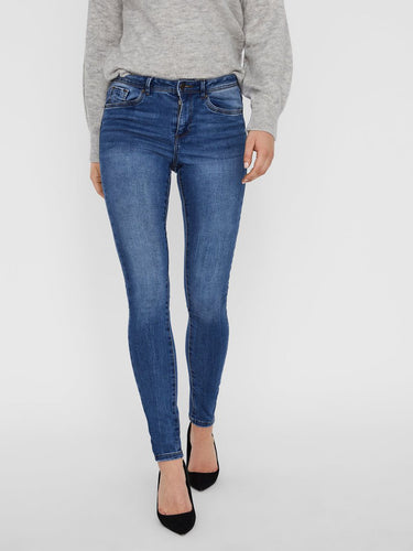 Seven Skinny Fit Blue Denim Jeans