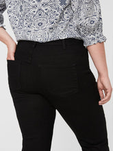 Load image into Gallery viewer, Curve - Black Straight Leg Jeans Trousers