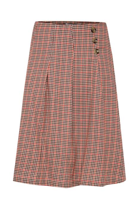 Tammy Check Print Skirt
