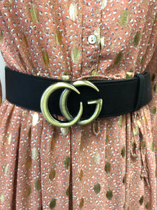 CG Metal Logo Belt