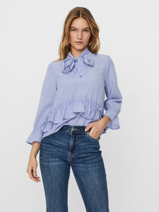 Dorthea Top  - Blue