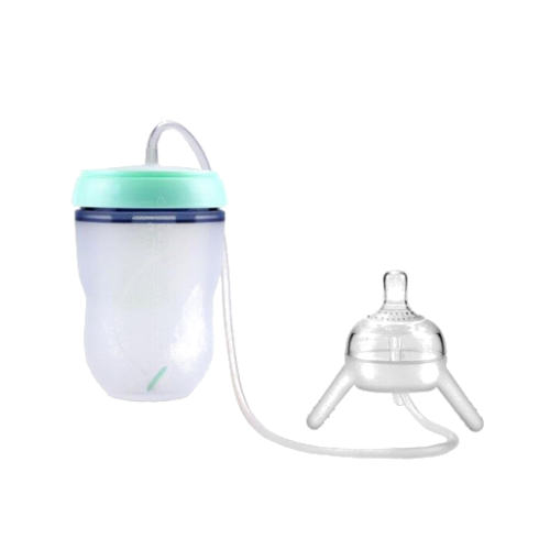 (1 Pack)-Hands Free Baby Bottle