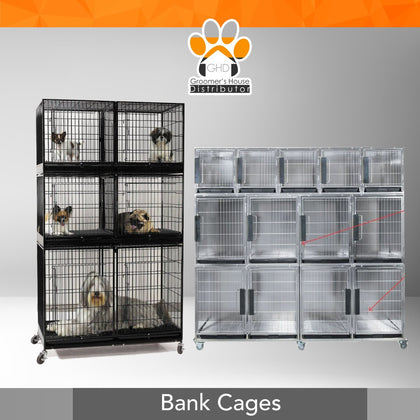 Bank Cages - Jaulas
