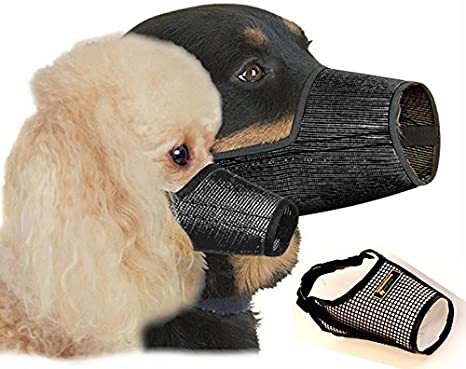 Sure-Fit Mesh Dog Muzzle Set of 8