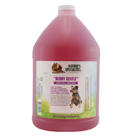 Berry Gentle 16:1 Tearless Shampoo Gallon & 16oz