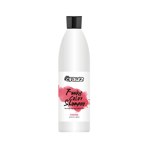 Opawz Funky Color Shampoo FUSCHIA 16.94oz