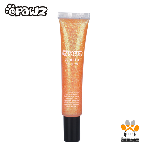 Glitter Gel Orange 1.06oz