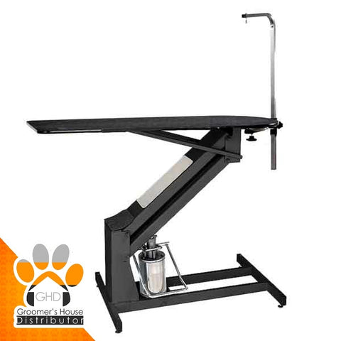 "MasterLift Hydraulic Grooming Table 50"" with Rotating Post"