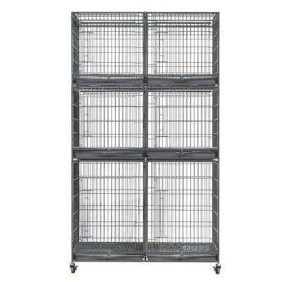 Large X Tall Cage Bank (Black)