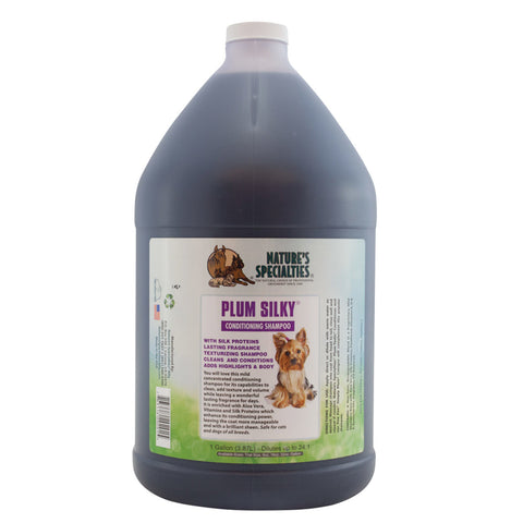 Plum Silky 24:1 Shampoo Gallon & 16oz
