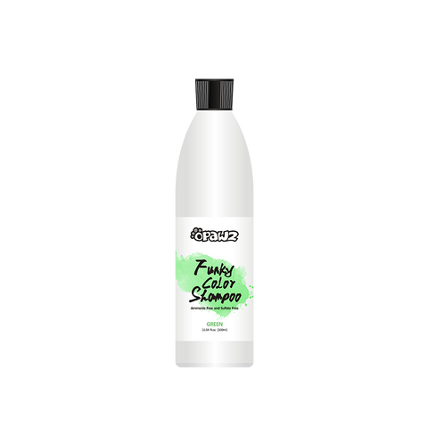Opawz Funky Color Shampoo GREEN16.94oz