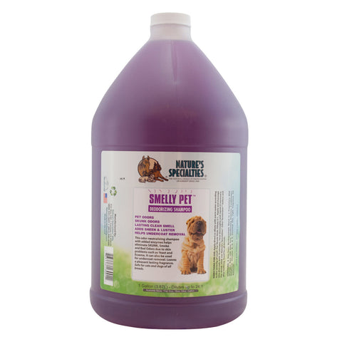 Smelly Pet Shampoo Gallon 24:1