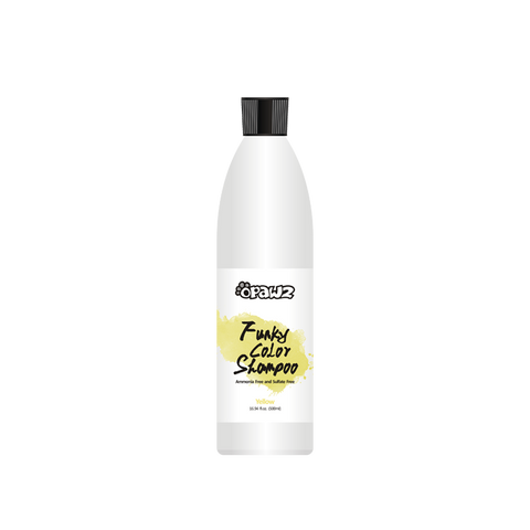 Opawz Funky Color Shampoo YELLOW 16.94oz