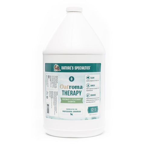 OatromaTHERAPY Rosemary & Peppermint Shampoo Gallon & 16oz