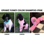 Opawz Funky Color Shampoo PINK 16.94oz