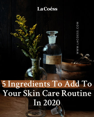 5 Ingredients To Add To Your Skin Care Routine In 2020