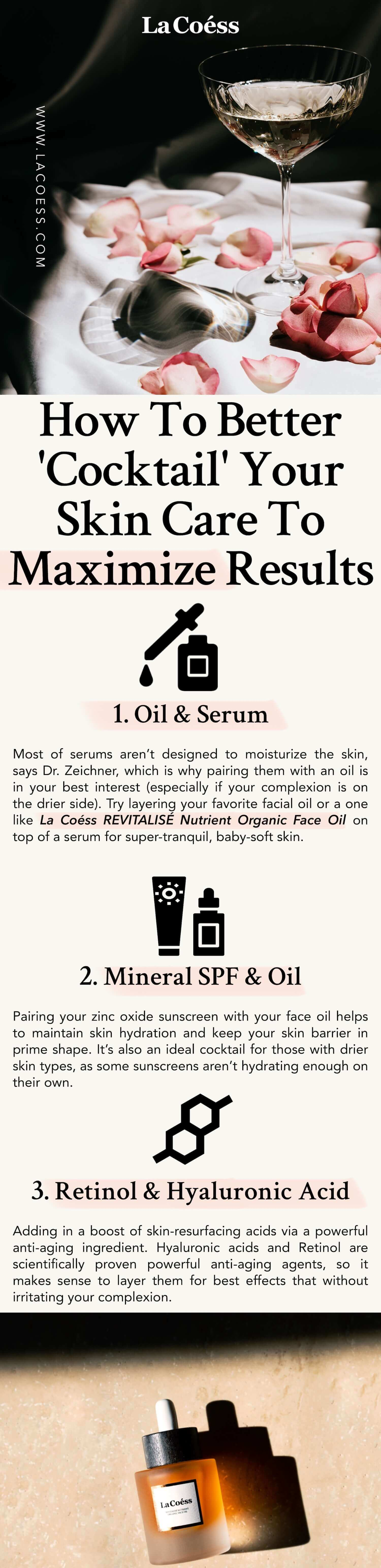 How To Better Cocktail Your Skin Care To Maximize Results