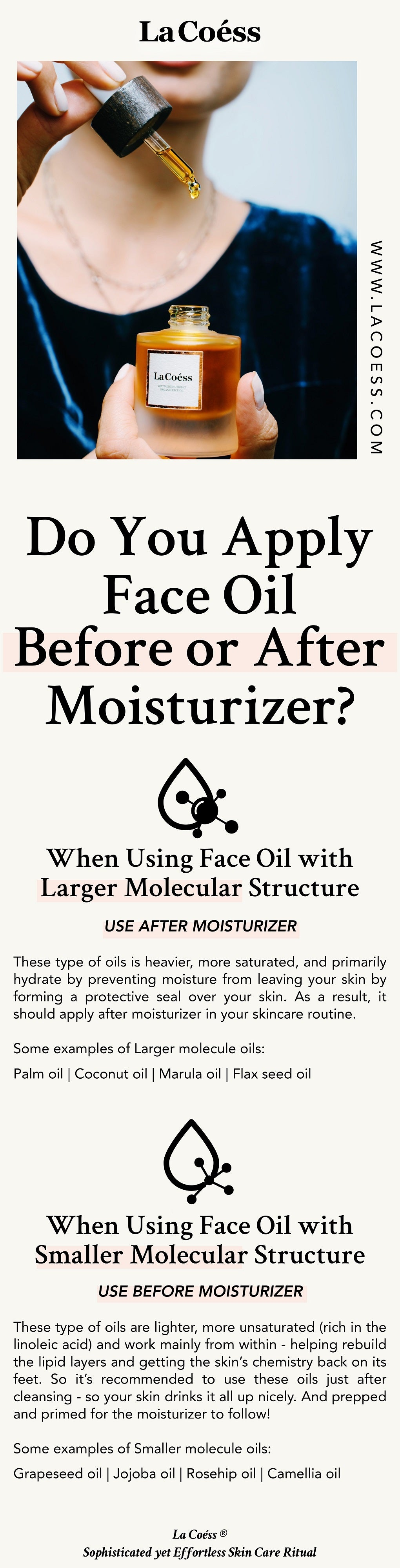 Do You Apply Face Oil Before or After Moisturizer?