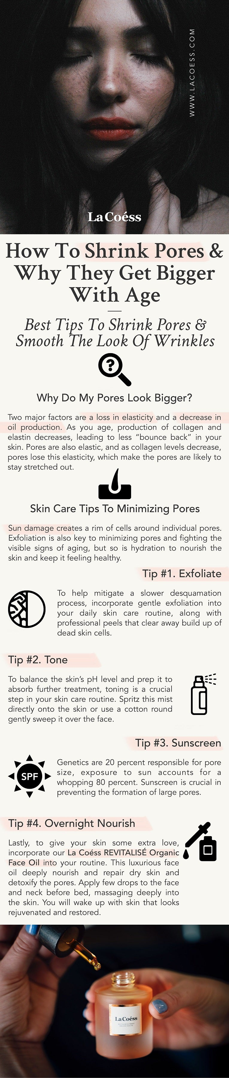 How to Shrink Pores & Why they get bigger with age