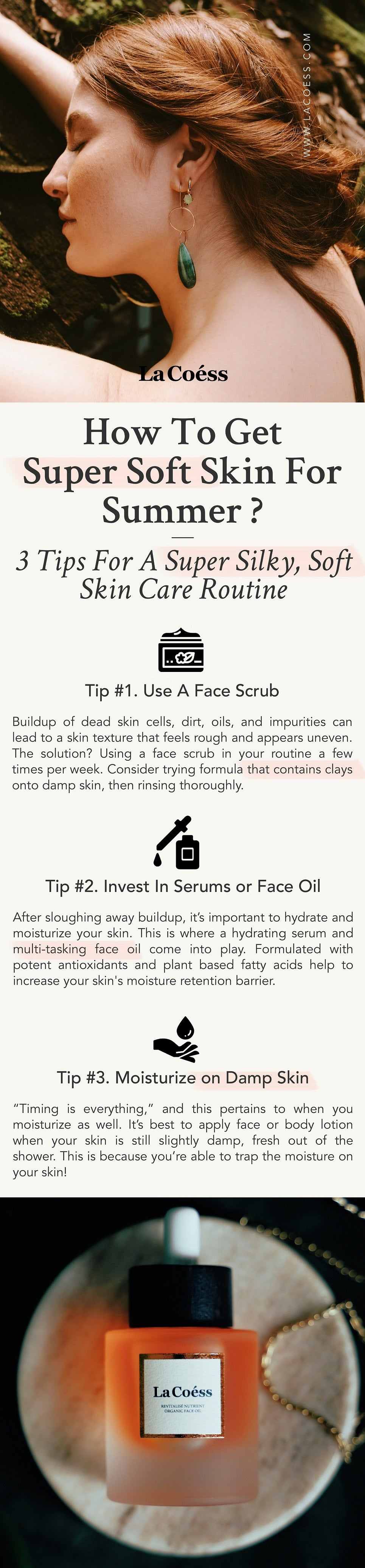 How To Get Super Soft Skin For Summer