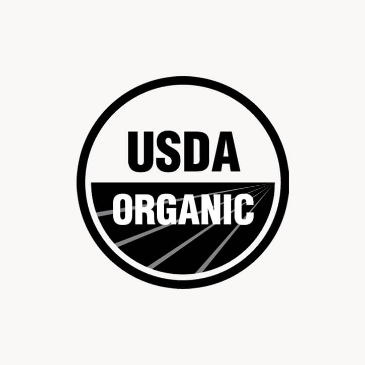 Certifications of USDA Organic Vegan Cruelty free of La Coéss Organic Face Oil