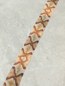 Artificial Snakeskin Backing - Copperhead