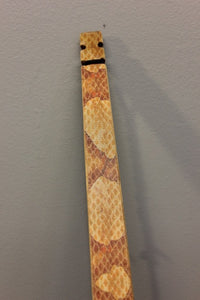Snake River Longbow - Copperhead Snakeskin