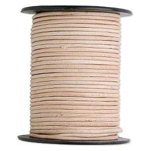 Leather Cord for handle Wraps - Tan