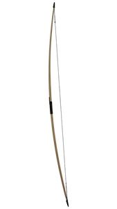 U Finish Classic English Longbow with Horn Nocks